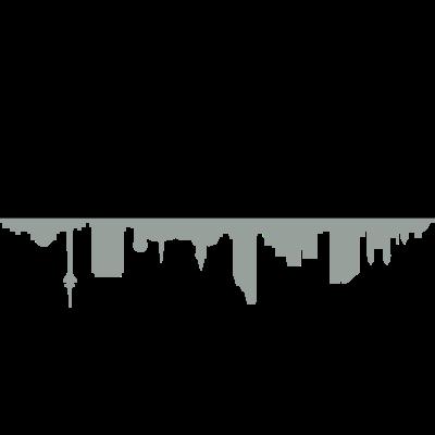 Skyline Düsseldorf Schatten - Skyline Düsseldorf Schatten - haus,denkmal,Wahrzeichen,Universität,Stadt,Skyline,Silhouette,Sehenswürdigkeiten,Sehenswürdigkeit,Rhein,Panorama,NRW,Kirche,Düsseldorf
