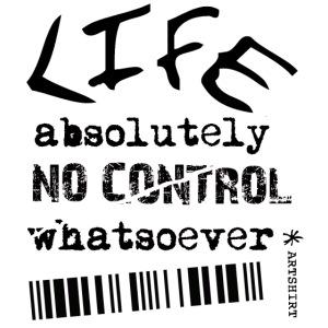 life no control tekst zwart
