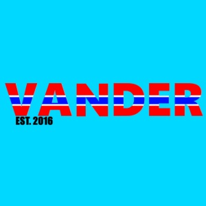 Vander in Red, white and blue.