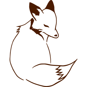 Fuchs 3/4 Sicht