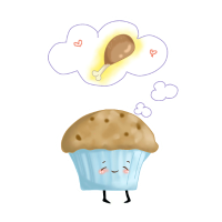 Cupcake Muffin Chicken