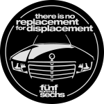 There is no replacement for displacement / 2farbig