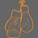Boxhandschuhe Orange