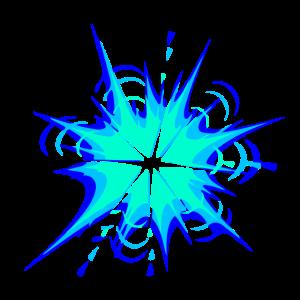 explosion stern flamme splash farbe klecks bunt