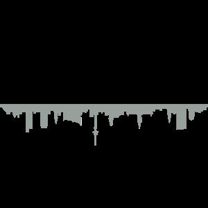 Skyline Hamburg Schatten
