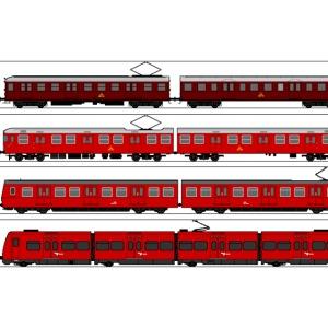 DSB S toghistorie
