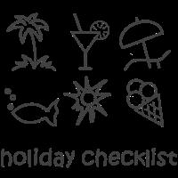 meine Urlaubscheckliste