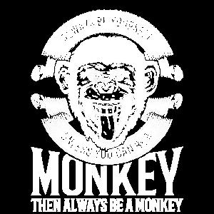 Cool Monkey Shirt, Cooles Affen Gorilla Affe