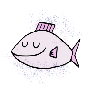 Fisch rosa Kidz