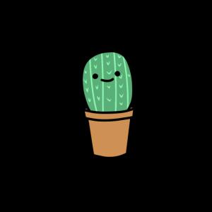 Kaktus Kakteen grün stachelig lustig niedlich