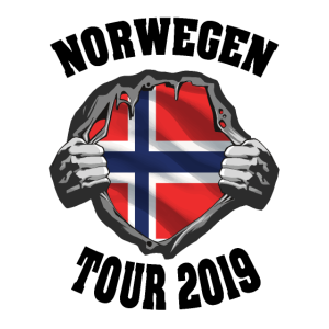 norwegen tour 2019 karte Dorschjäger Geschenk