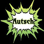 Comic Schrift Autsch