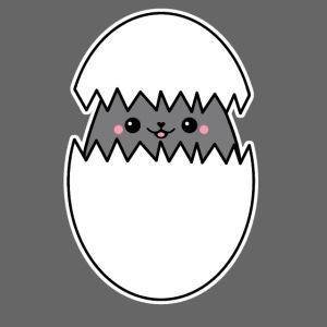 Katze im Ei