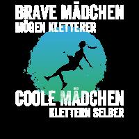 Brave Maedchen moegen Kletterer Coole Maedchen Kle