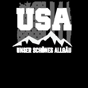 USA Unser Schoenes Allgaeu Allgaeu Berge Ber