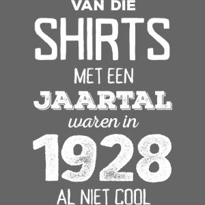 Shirt met jaartal