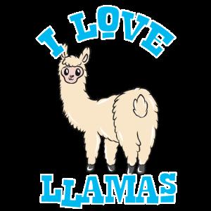 Ich liebe Lamas