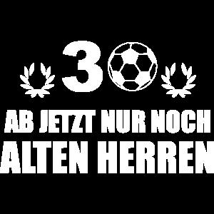 30. Geburtstag Fußball