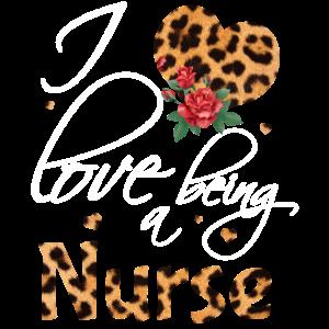 Ich liebe es, eine Krankenschwester zu sein