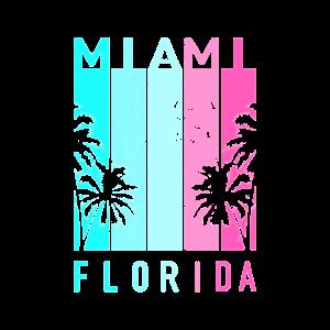 Miami Florida 80er Jahre retro