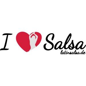 i love salsa black
