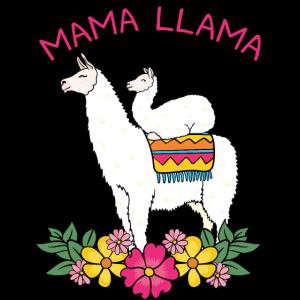 Mama Mutter Muttertag Geschenk Lama Llama Lustig
