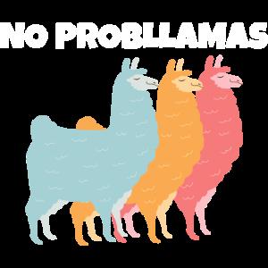 Keine Probleme | Lama Gruppen Gang