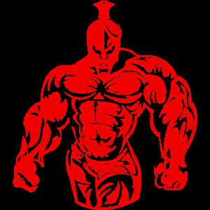 spartan warrior muscles