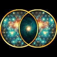 Vesica Piscis Galaxie Heilige Geometrie Evolution