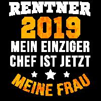 Rentner 2019 Chef Meine Frau Rente Pension Geschen