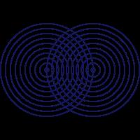 Vesica Piscis Symbol Heilige Geometrie Mathematik