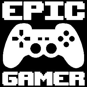 Controller Epic Gamer Zocken Geschenk