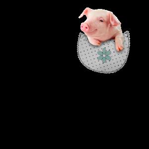 Pig in Your Pocket Farm Animal Tshirt