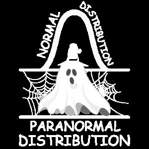 Normal Distribution Data Science Halloween T Shirt