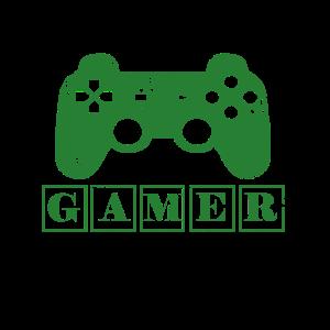 green gamer - grüner Spieler