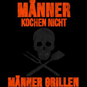 Grill T-Shirt Steak Griller Grillmeister Geschenk