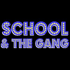 School & the Gang blue - das coole Schulkind Shirt
