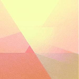 Abstrakter Sonnenaufgang