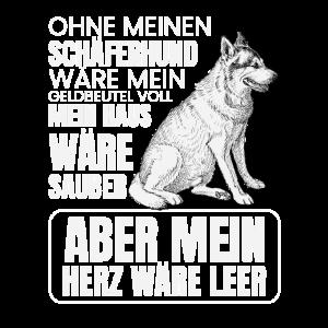 Deutscher Schäferhund T-Shirt Hund Geschenk