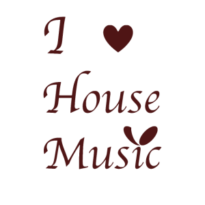 "Shirt "" I love House Music "" Musik Liebe Herz Top"