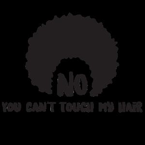 Sarkastisches Afro-Haar