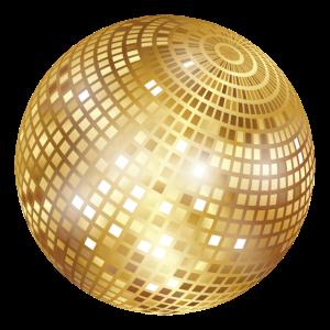 Diskokugel / Spiegelkugel / Disco Ball (PNG)