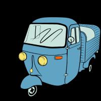 Ape Vespacar Dreirad Kleintransporter