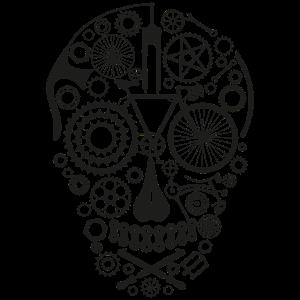 Bicycle Skull black