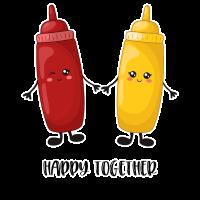 Ketchup und Senf