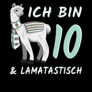 10 Jahre Lama Lamatastisch 10. Geburtstag Geschenk