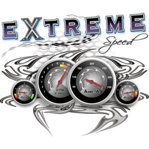 Extreme Geschwindigkeit