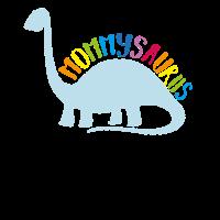 Mothers Day Mommysaurus Dinosaur T Shirt