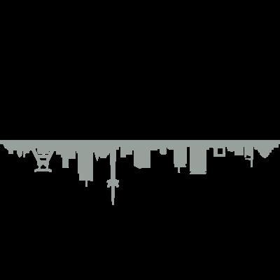 Skyline Essen - Skyline Essen - wahrzeichen,stadt,silhouette,sehenswürdigkeit,haus,gebäude,essen,denkmal,Skyline,Ruhrgebiet,NRW