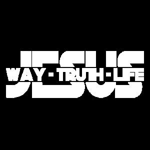 Jesus Weg Wahrheit Leben B